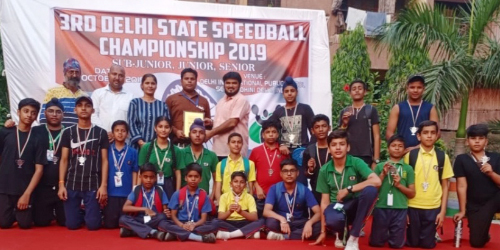 State Level Speedball Competition
